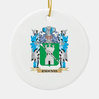 Escudo de armas de Cadenas - escudo de la familia Ornamento Para Arbol De Navidad