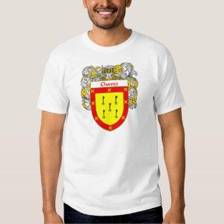 Escudo de armas de Chavez (cubierto) Camisas