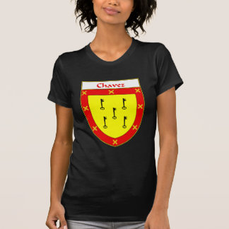 Escudo de armas de Chavez/escudo de la familia Camiseta