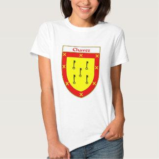 Escudo de armas de Chavez/escudo de la familia Camisetas