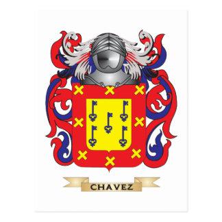 Escudo de armas de Chavez Postales