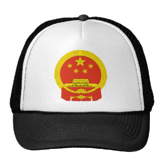 escudo de armas de China Gorros