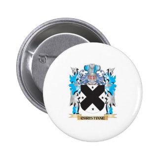 Escudo de armas de Christiane - escudo de la famil