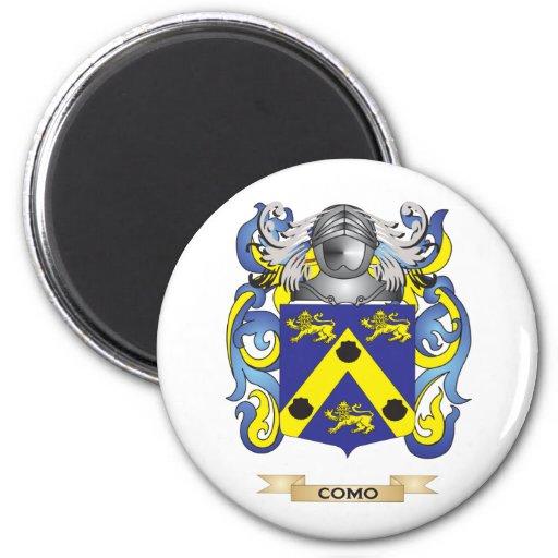 Escudo de armas de Como Imanes De Nevera