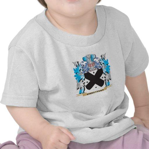 Escudo de armas de Cristiana - escudo de la Camiseta