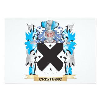 Escudo de armas de Cristiano - escudo de la Invitaciones Personales