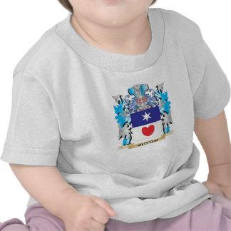 Escudo de armas de Custer - escudo de la familia Camiseta