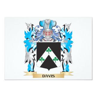 Escudo de armas de Davis - escudo de la familia Anuncio Personalizado