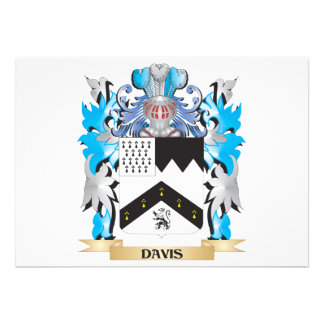 Escudo de armas de Davis - escudo de la familia