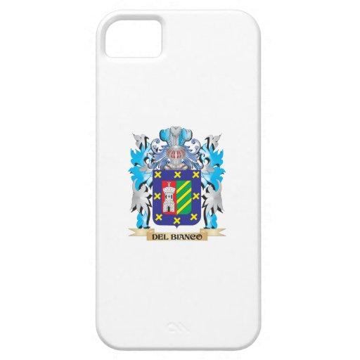 Escudo de armas de Del-Bianco - escudo de la famil iPhone 5 Protector