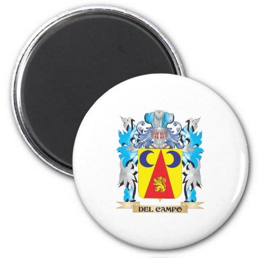 Escudo de armas de Del-Campo - escudo de la famili Imanes Para Frigoríficos