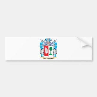 Escudo de armas de Del-Checolo - escudo de la fami