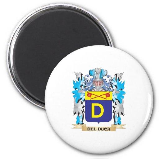 Escudo de armas de Del-Duca - escudo de la familia Imán