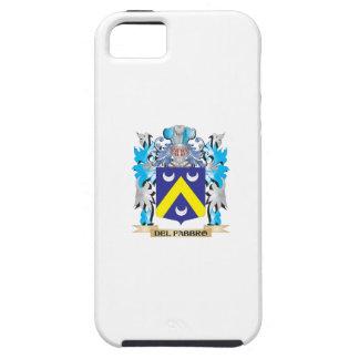 Escudo de armas de Del-Fabbro - escudo de la famil iPhone 5 Cárcasa