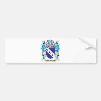 Escudo de armas de Del-Felice - escudo de la famil