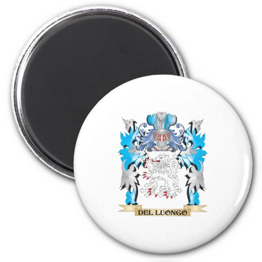 Escudo de armas de Del-Luongo - escudo de la famil Iman