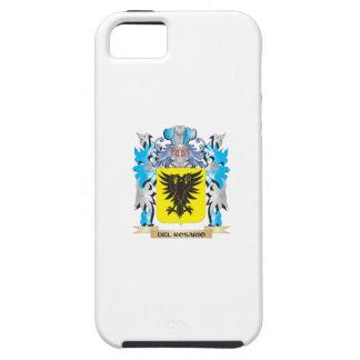 Escudo de armas de Del-Rosario - escudo de la fami iPhone 5 Fundas