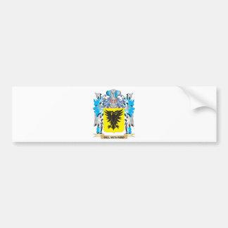 Escudo de armas de Del-Rosario - escudo de la fami