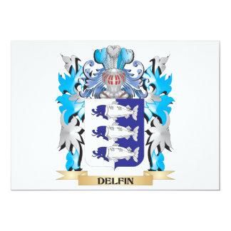 Escudo de armas de Delfin - escudo de la familia Comunicado Personal