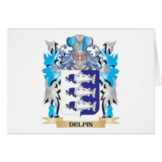 Escudo de armas de Delfin - escudo de la familia
