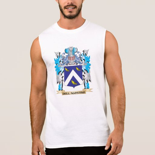Escudo de armas de Dell-Agustín - escudo de la Camisetas Sin Mangas