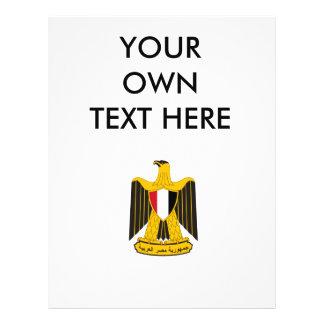 Escudo de armas de Egipto Tarjeton