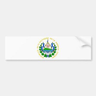 Escudo de armas de El Salvador Pegatina Para Coche