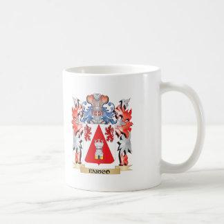 Escudo de armas de Enrique - escudo de la familia Taza De Café