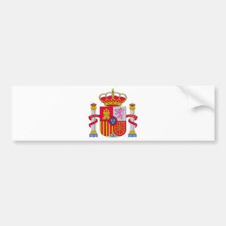 Escudo de armas de España Pegatina De Parachoque