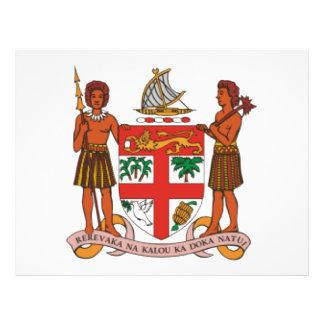 Escudo de armas de Fiji Tarjetón