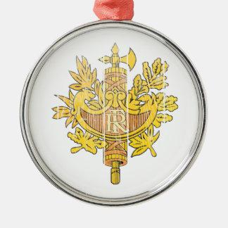 Escudo de armas de Francia Ornaments Para Arbol De Navidad