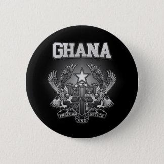 Escudo de armas de Ghana Chapa Redonda De 5 Cm