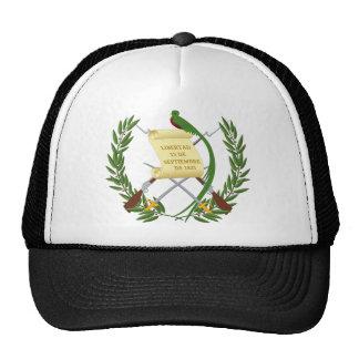 Escudo de armas de Guatemala - escudo de armas Gorros Bordados