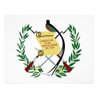 Escudo de armas de Guatemala Tarjetas Publicitarias