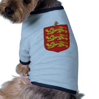 Escudo de armas de Guernesey Ropa De Mascota