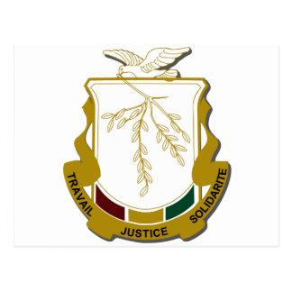 Escudo de armas de Guinea Postal