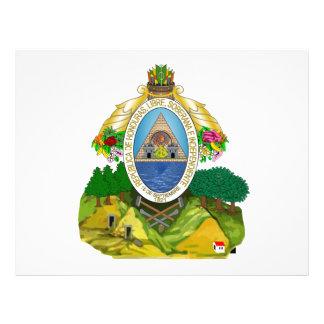 Escudo de armas de Honduras Flyer A Todo Color