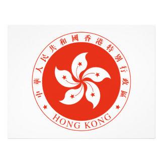Escudo de armas de Hong Kong Flyer A Todo Color
