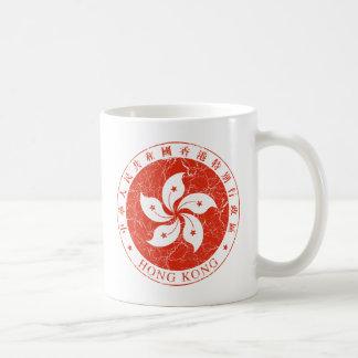 Escudo de armas de Hong Kong Taza