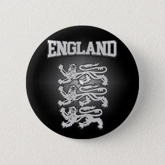 Escudo de armas de Inglaterra Chapa Redonda De 5 Cm