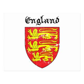 Escudo de armas de Inglaterra Postal
