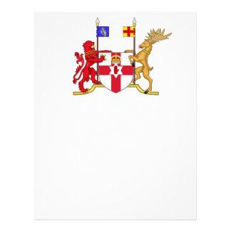 Escudo de armas de Irlanda del Norte Folleto 21,6 X 28 Cm