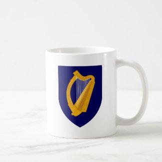 Escudo de armas de Irlanda - emblema irlandés Taza De Café