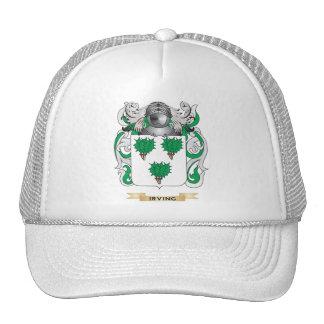 Escudo de armas de Irving (escudo de la familia) Gorras
