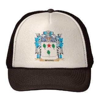 Escudo de armas de Irving - escudo de la familia Gorros