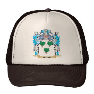 Escudo de armas de Irving - escudo de la familia Gorras