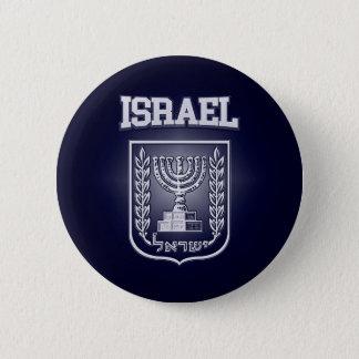 Escudo de armas de Israel Chapa Redonda De 5 Cm
