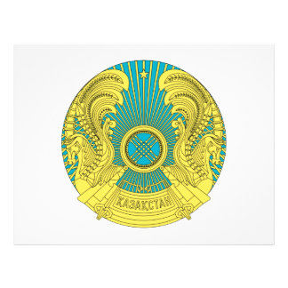 Escudo de armas de Kazajistán Tarjetones