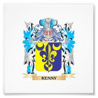 Escudo de armas de Kenny - escudo de la familia Fotografia