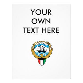 Escudo de armas de Kuwait Tarjetas Publicitarias